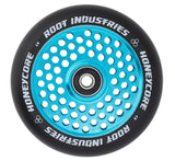Root Industries 110mm HoneyCore Wheels - Black/Blue (Pair)