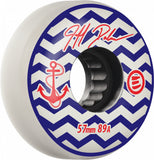 Eulogy Jeff Dalnas Anchor Signature Wheels 57mm 89A - White (Set of 4)