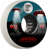 Eulogy Sean Keane Signature Abduction Wheels 58mm 90A - White (Set of 4)