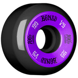 Bones 100's 55mm 100a Wheels - Black (Set of 4)