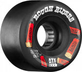 Bones ATF Shotgun Rough Riders 56mm Wheels - Black (Set of 4)
