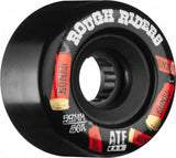 Bones ATF Shotgun Rough Riders 59mm Wheels - Black (Set of 4)