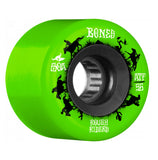 Bones ATF Rough Rider Wranglers 56mm 80a Wheels - Green (Set of 4)