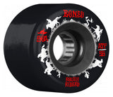 Bones ATF Rough Rider Wranglers 56mm 80a Wheels - Black (Set of 4)