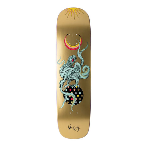 "Welcome Demon Prince On Yung Nibiru 8.25"" Deck - Gold"