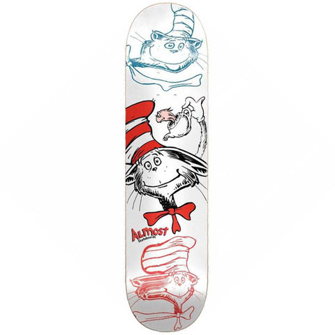 Almost x Dr. Seuss Yuri Cat N Fish R7 Deck - 8.25""