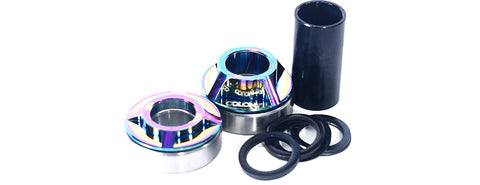Colony BMX Mid Bottom Bracket 22mm Kit - Rainbow