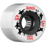 Bones ATF Rough Rider Wranglers 56mm 80a Wheels - White (Set of 4)