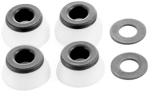 Bones Hardcore Hard Medium Bushings - White (Set of 4)