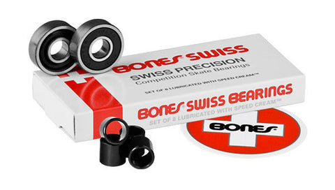 Bones Swiss Labyrinth Skateboard Bearings