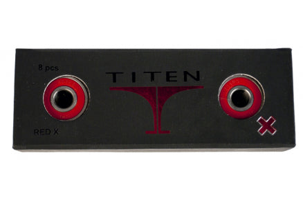 Titen Swiss Bearings Red (4 pack)