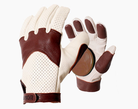Landyachtz Burley Leather Slide Gloves