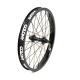 "Colony BMX Pintour 20"" Front Wheel - Black/Black"