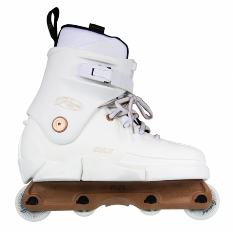 Razor Cult Copper Aggressive Inline Skate - Off White
