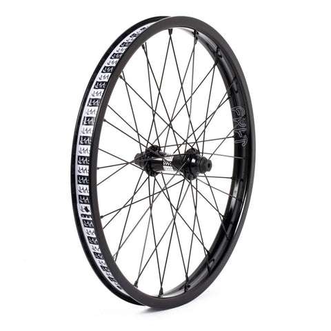 Cult BMX Crew Front Match Wheel - Black Hub