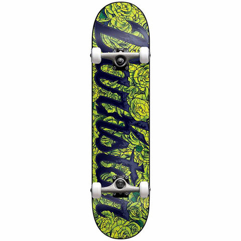 "Darkstar Complete Roses FP Soft Wheels 7.75"" - Lilme Green"