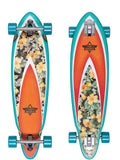 "Dusters Fin Hani Complete Longboard 33"" - Turquoise"