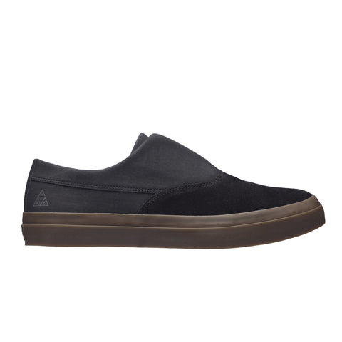 Huf Shoes Dylan Slip On - Black/Dark Gum