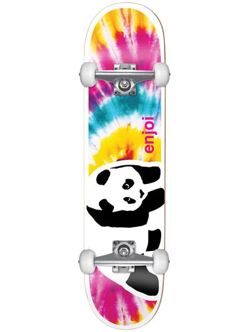 "Enjoi Negative Space Complete Skateboard 8.0"" - Tie Dye"
