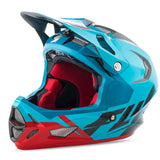 Fly Racing Werx Ultra Graphic Full Face Helmet - Blue/Red/Black