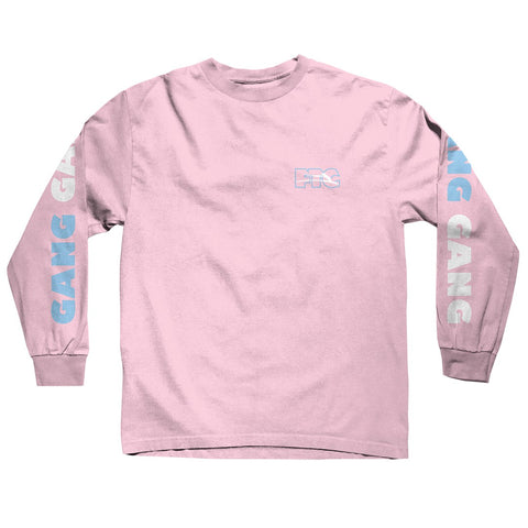 Lakai X FTC Gang Gang Long Sleeve Tee - Pink