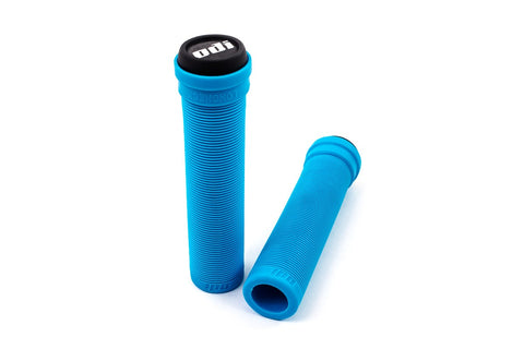 ODI Longneck Soft Flangeless Grips - Light Blue