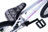Colony Inception 18″ Complete BMX Bike - Pearl Silver/Rainbow