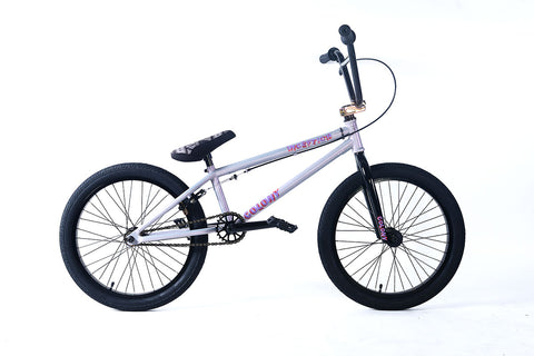 Colony Inception Complete BMX Bike - Pearl Silver/Rainbow