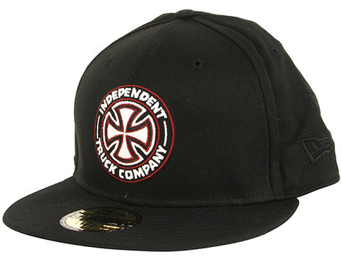 Black - Independent Hat Classic Pinline New Era