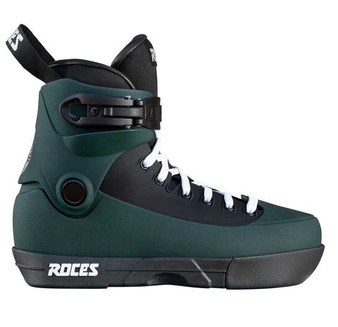 Roces 5th Element UFS Yuto Goto Aggressive Inline Skates Boot Only - Fuka Green