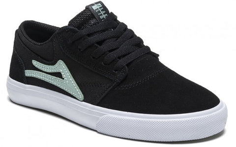 Lakai Shoes Griffin Kids - Black/Mint Suede