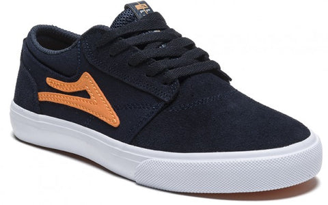 Lakai Shoes Griffin Kids - Midnight/Orange Suede