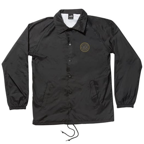Lakai Sweatshirts Caliber Coaches Jacket - Black