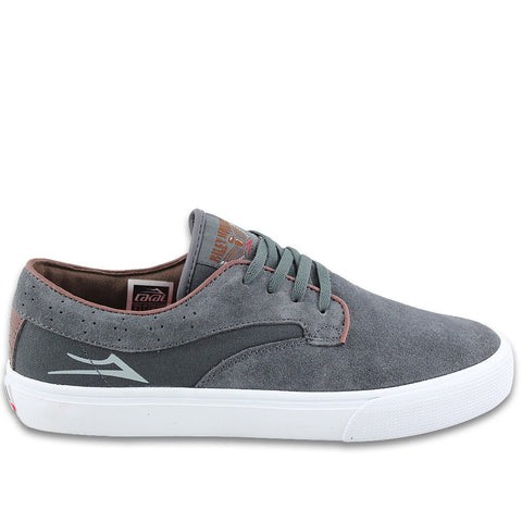 Lakai Shoes Riley Hawk - Gargoyle Suede