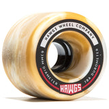 Hawgs Fatty Wheels 63mm 78a - Mocha Swirl (Set of 4)