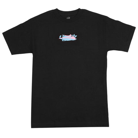 Lakai Leon Lazy Cat Tee - Black