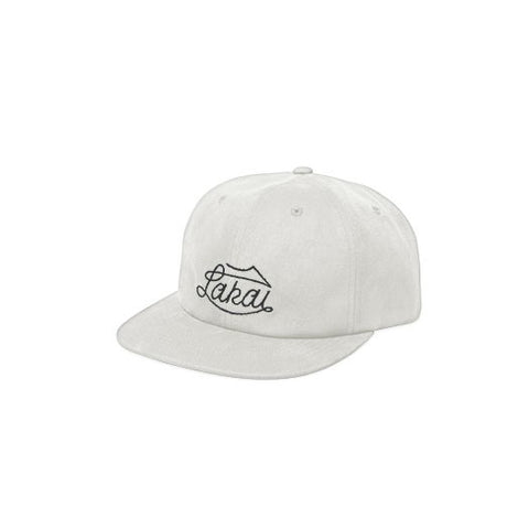 Lakai Lariat 6-Panel Snapback Hat - White