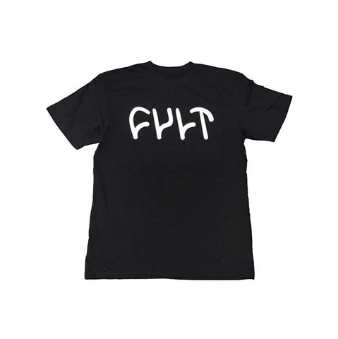 Cult BMX Logo Kid's Tee - Black