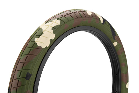 "Mission BMX Tracker Tire 2.4"" - Woodland Camo"
