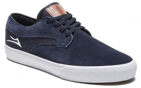 Lakai Shoes Riley Hawk - Midnight Suede