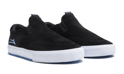 Lakai Shoes Owen VLK - Black Suede (Spring 19)