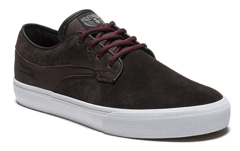 Lakai Shoes Riley Hawk - Chocolate Suede