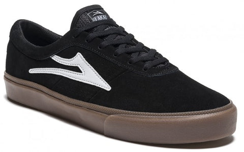Lakai Shoes Sheffield - Black/White Suede