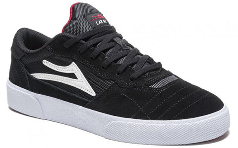 Lakai Shoes Cambridge - Black/White Suede