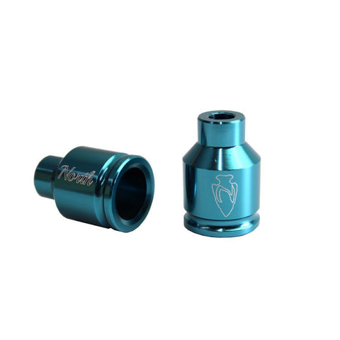 North Scooters Shorties Pegs - Teal