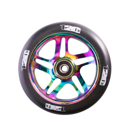 Envy 5 Spoke Scooter Wheel 120mm - Oil Slick/Black (Pair)