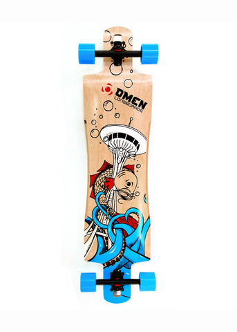 Omen Pike Drop Through Complete Longboards
