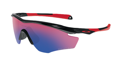 Oakley Sunglasses M2 Frame - Polished Black/OO Red Iridium Polarized