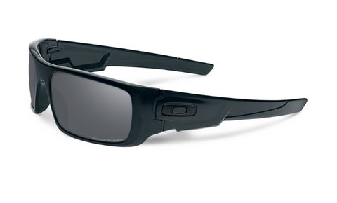 Oakley Sunglasses Crankshaft - Matte Black/Black Iridium Polarized