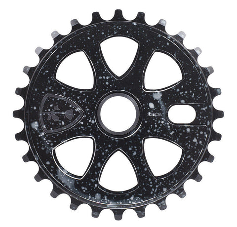 Subrosa BMX Petal Sprocket 28T - Gloss Cosmic Black